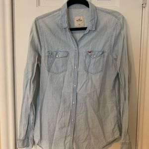 Hollister & Co. Chambray Jean Shirt for Women